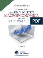 Jimenez, Felix (2010) Elementos de Teoría y Política Macroeconómica
