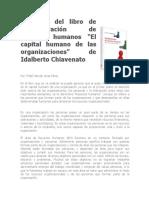 Resumen Libro Administración RRHH Chiavenato
