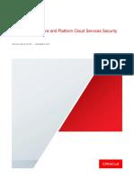 Oracle Cloud Security Whitepaper