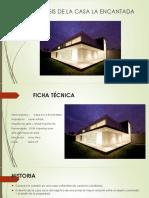 Analisis de la Casa La Encantada - Javier Artadi
