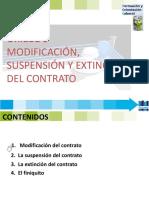 Fol 9 Modificación, Suspension y Extinción Del Contrato -2016