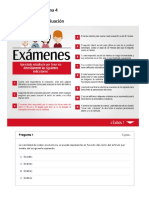 Evaluación Examen Parcial - Semana 4
