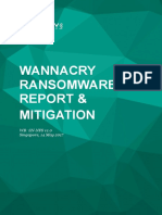 Wannacry Report