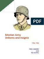 1936-1944EstonianArmyUniformsAndInsignia