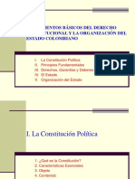 Presentacion Dario Restrepo - Derecho Constitucional - Organizacion Del Estado
