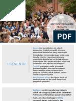 Metode Dan Strategi Promosi Kesehatan