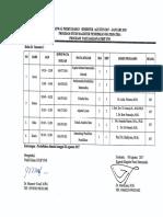 Jadwal Kuliah s2 PmAth