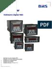 Catalogo Voltimetro Digital BHS Bdi Rev. 15