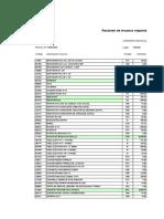 6. Flete y Costo de Materiales