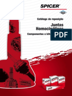 Spicer Juntas Homocinéticas 1702