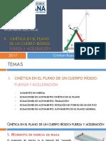 Cinética en El Plano de Un Cuerpo Rígido - FA (1)