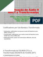 Codificação de Audio II_2018