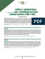 ALVES FILHO, A. Formação Estado Nacional