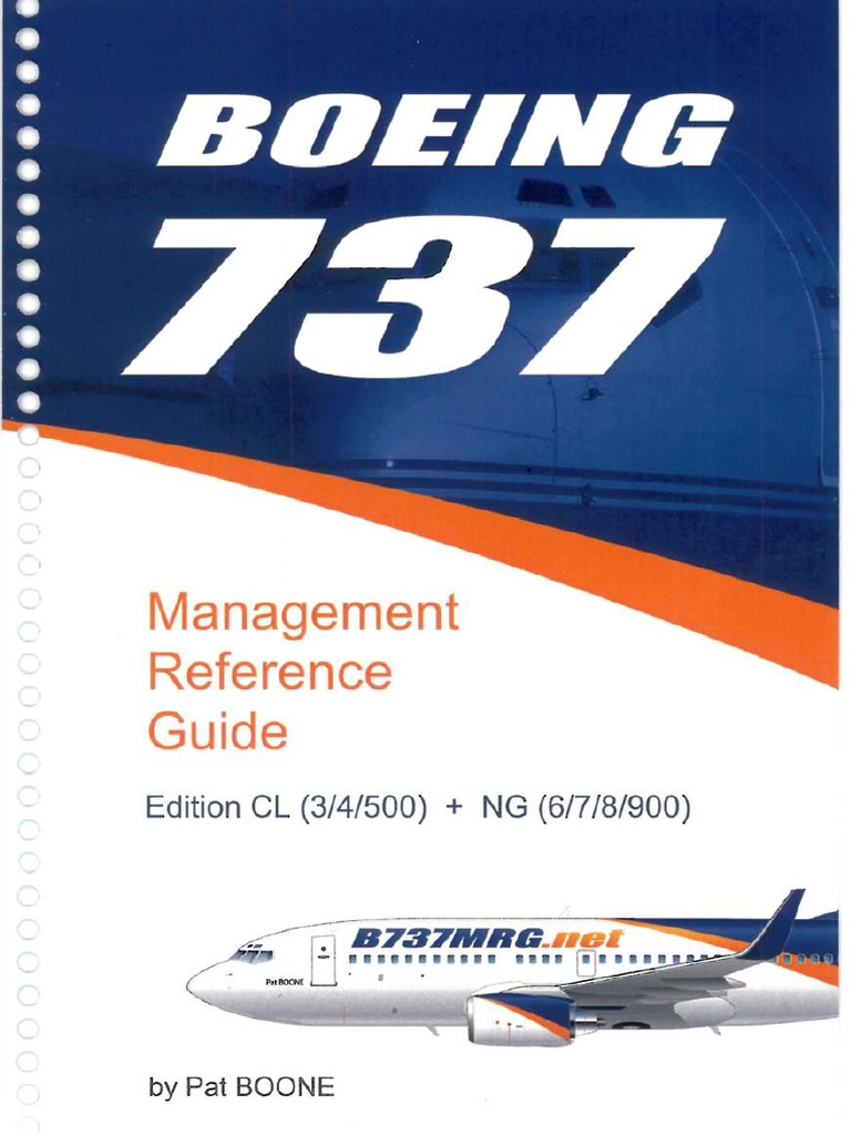 boeing 737 cl ng management reference guide 2007 rh scribd com boeing 737 reference guide boeing 737ng reference guide apk