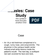 60240160 Measles Virus Case Study