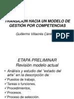 Transición Hacia Un Modelo de Gestión Por Competencias