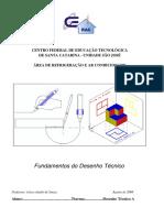 Fundamentos Do Desenho Técnico - Gilson Jandir de Souza