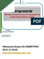 ENCGK Entrepreunariat ELMAHFOUDI Séance1