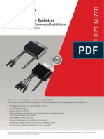 Datasheet P700 Power Optimizer