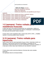 Periodização Anual