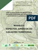 Módulo 4- Aspectos Jurídicos do Cadastro