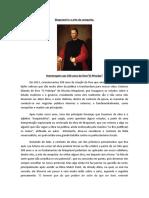 500 anos do livro O Príncipe - Maquiavel