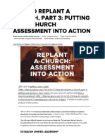 How to Replant a Church, Part 3_ Putting Your Church Assessment Into Action