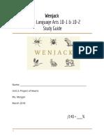 wenjack study guide