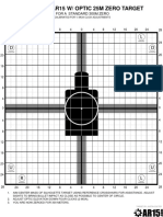 Improved AR15 OpticTarget