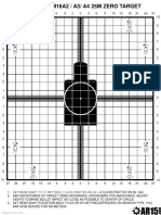 Improved M16A2_A3_A4 Zero Target