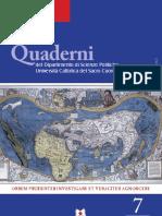 Scienze Politiche Quaderni
