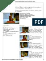 Canelones Rellenos de Calabaza, Espinaca y Queso Mascarpone