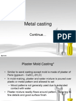 CH3 - Metal Casting Part 2
