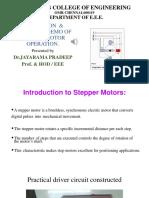 Stepper Motor Demonstration