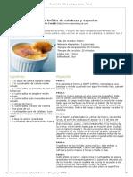 Crème Brûlée de Calabaza y Especias