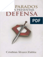 Preparados Para Presentar Defensa - Cristian Alvarez Zaldua