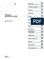 Manual Sentron Pac4200 03 Es-MX