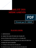 Pharm3an Galenique-Stabilite Mdcts