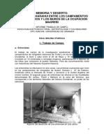 Memoria y Desierto en El Sahara Occidental Informe Trabajo de Campo 11