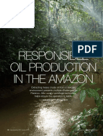 Oil Production in the Amazon