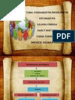 Fundamentos Sociológicos