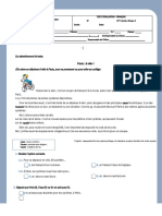 Test Devaluationtransports Controle Devaluation Exercice Grammatical Feuille 104781