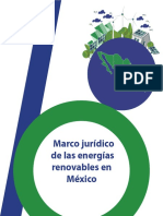Marco Juridico de Las Energias Renobables