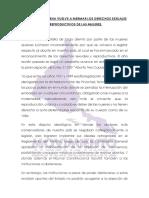La Derecha Chilena Vuelve a Mermar Los Derechos Sexuales y Reproductivos de Las Mujeres