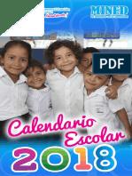 Calendar i o Escola r 2018
