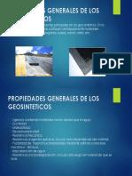 Propiedades Generales de Los Geosinteticos