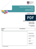 Group Project Storyboard Template
