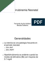 Hiperbili Neo. hiperbilirrubinemia. ictericia