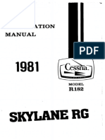 1981 R182 Skylane RG InfoManual