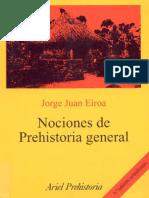 Jorge Eiroa - Nociones de Prehistoria General